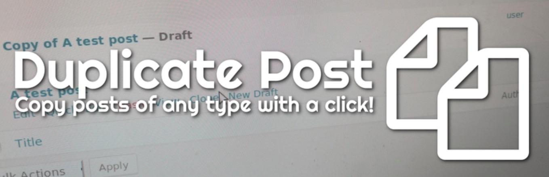Duplicate Post WordPress