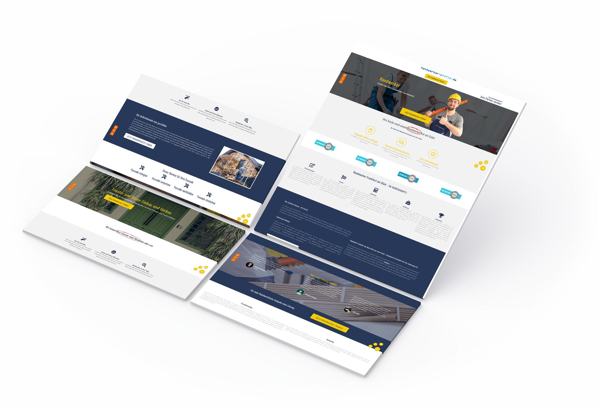 Website für Handwerker