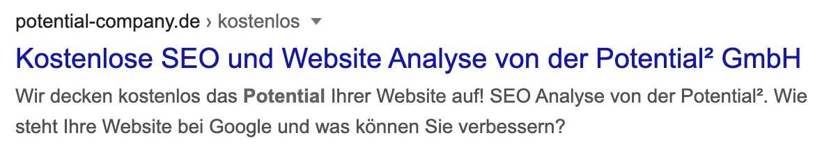 SEO Quellcode Website
